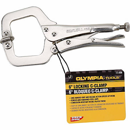 Olympia Tools 6 in. Locking C-Clamp