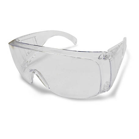 Stanley Polysafe Safety Eyewear, Clear Frame and Lens