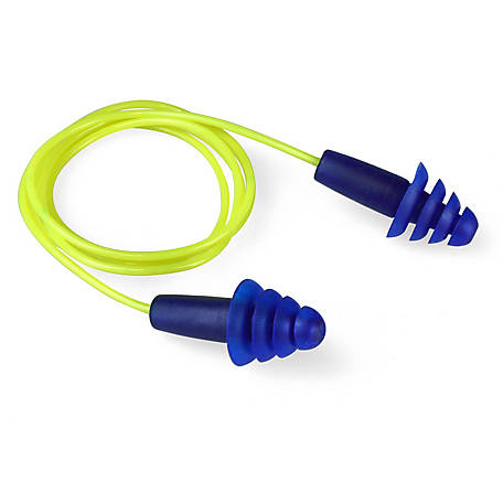 Stanley Earplugs, Corded, Reusable, SYH43-1BP