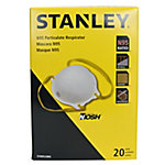 Stanley SAF-T-FIT N95 Disposable Respirator, Pack of 20