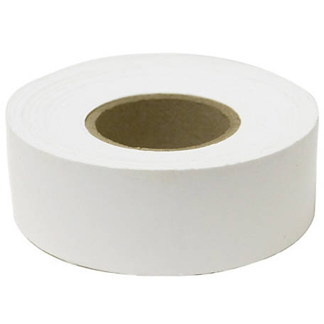 C.H. Hanson Standard White Flagging Tape, 1-3/16 in. x 300 ft.