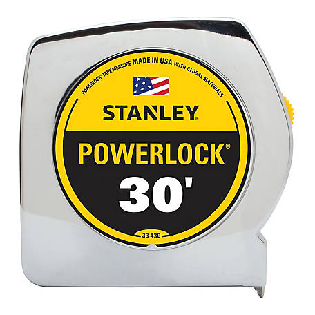 Stanley 30 ft. Powerlock Tape Measure