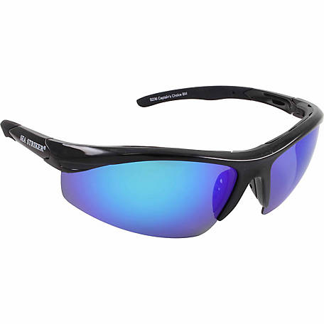 Sea Striker Captain's Choice Blue Mirror Glasses