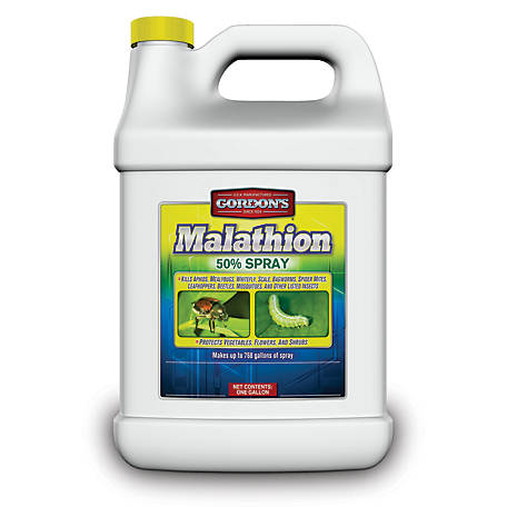 Gordon's Malathion 50% Spray Insecticide Concentrate, 1 gal., 602000