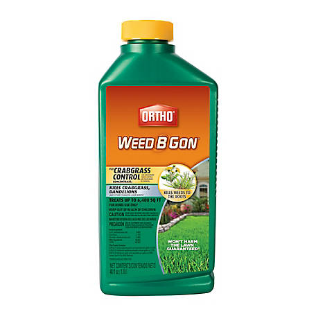 Ortho Weed B Gon Plus Crabgrass Control Concentrate, 40 oz  at Tractor  Supply Co