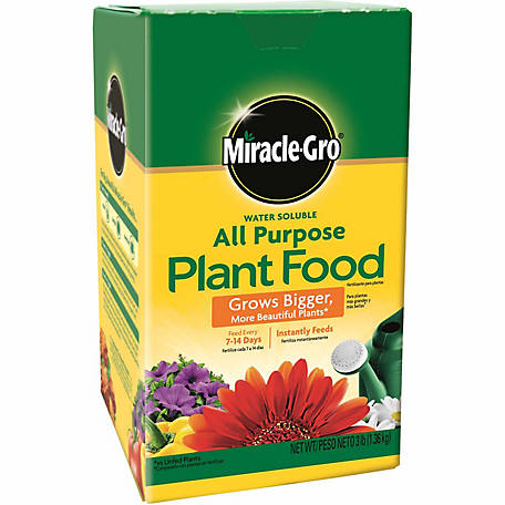 Miracle-Gro Water Soluble All Purpose Plant Food 3 lb., 1000283
