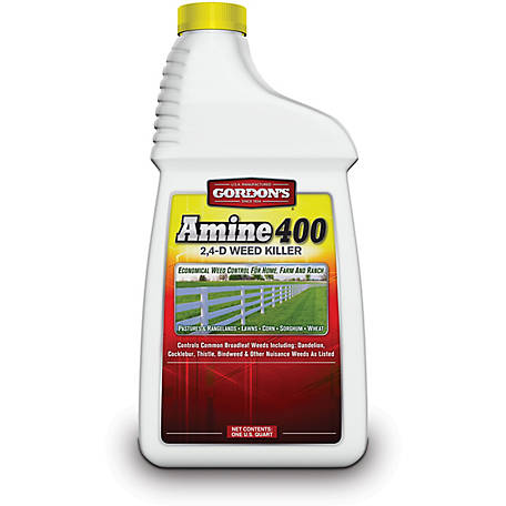Gordon's Amine 400 2,4-D Weed Killer, 1 qt., 8141082