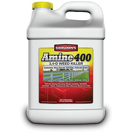 Gordon's Amine 400 2,4-D Weed Killer, 2.5 gal., 8141122