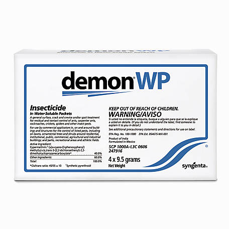 Demon WP Insecticide in Water Soluble Packets