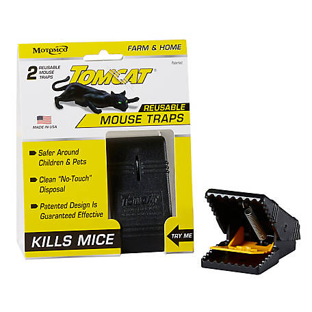 Tomcat Mouse Snap Trap, Pack of 2, 33500