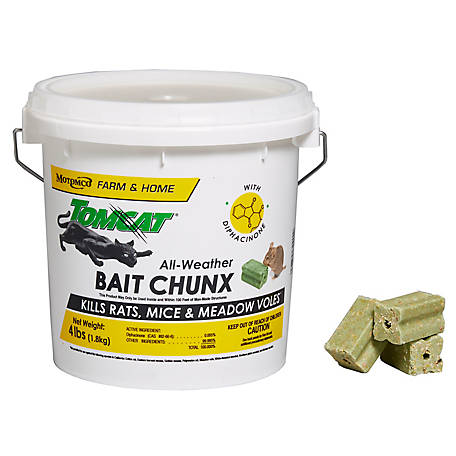 Tomcat All-Weather Bait Chunx, 4 lb. Pail of 1 oz. Chunx, 32465