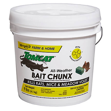 Tomcat All-Weather Bait Chunx, 9 lb. Pail of 1 oz. Chunx, 32446