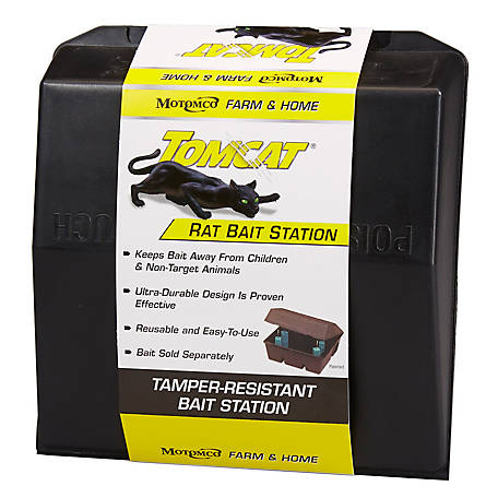 Tomcat Rat Bait Station, 33450