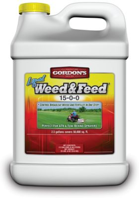 Gordon S Liquid Weed Feed Concentrate 15 0 0 2 5 Gal At Tractor