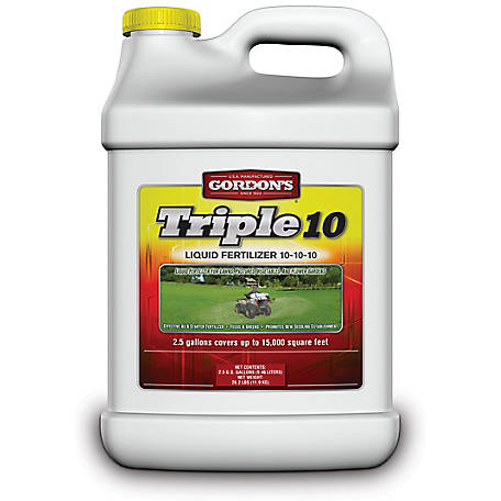 Gordon's Triple 10 Liquid Fertilizer 10-10-10, 7441122