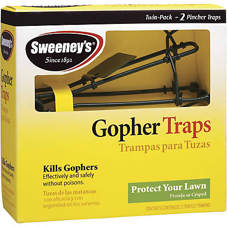 Sweeney's Gopher Trap, Pack of 2