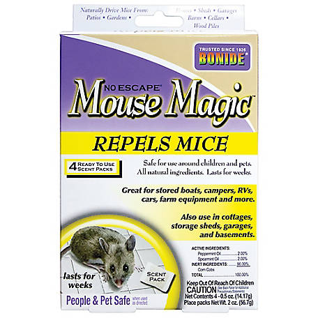 Bonide 4-Pk. Mouse Magic Ready-to-Use Scent Packs
