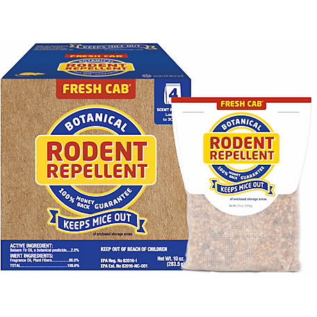 Fresh Cab #1 Botanical Rodent Repellant, 10 oz., FC4P36N