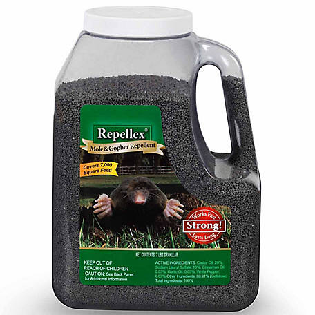 Repellex Mole and Gopher Granular, 7 lb.