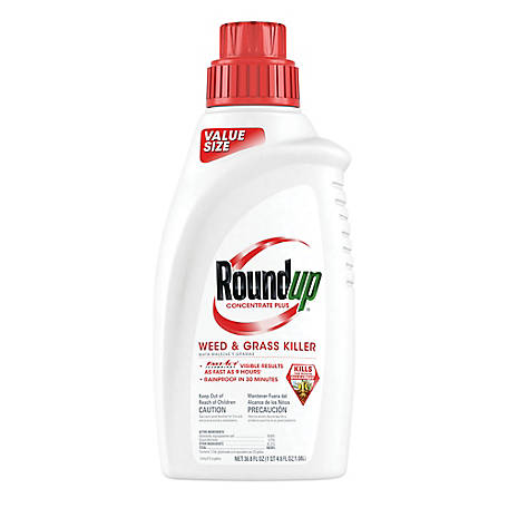 Roundup Weed & Grass Killer Concentrate Plus Value Size 36.8 oz., 5100610