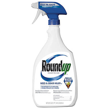Roundup Ready-To-Use Weed & Grass Killer III, 30 oz., 5003470