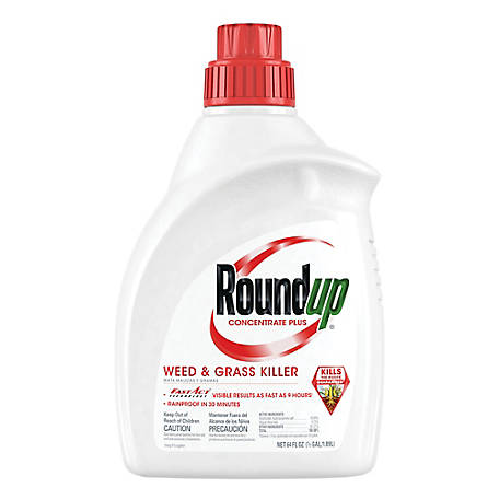 Roundup Weed & Grass Killer Concentrate Plus, 64 oz., 5006010