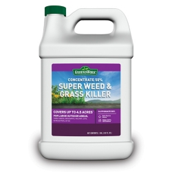 Shop GroundWork Super Weed & Grass Killer Concentrate, 50% Glyphosate, 1 gal. at Tractor Supply Co.