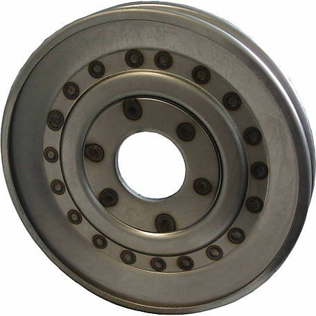 Weasler Pulley, W Series Hub, 9 in. Outside Diameter, 18 Gage