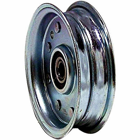Weasler Pulley, Flat Belt Idler, 1/2 in. Bore, OD 4 in.