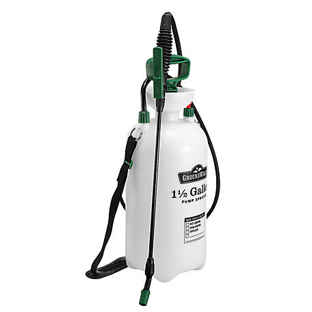 GroundWork Pump Sprayer, 1-1/2 gal. Capacity, LFSX-6B