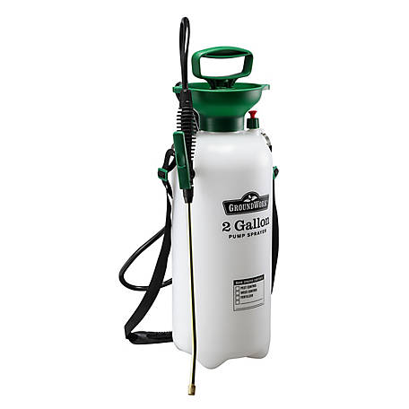 GroundWork Pump Sprayer, 2 gal. Capacity, LFSX-8A