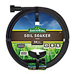 GroundWork Soaker Hose, Black, 50 ft. L