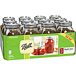 Ball Regular Mouth Jars, 32 oz., Pack of 12