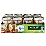 Ball Wide Mouth Pint Jar, Pack of 12