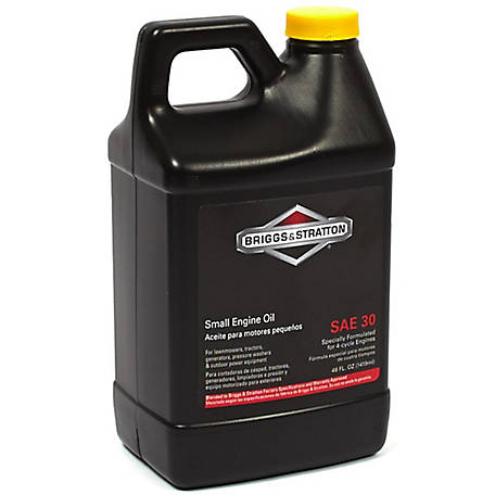 Sae 30 Oil >> Briggs Stratton Sae 30 Engine Oil 48 Oz 100028 At Tractor Supply