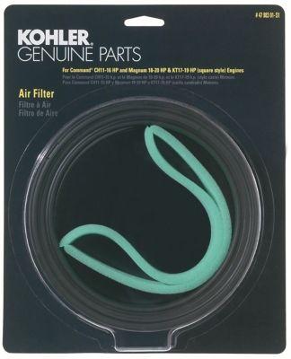 Kohler Air Filter/Precleaner Kit for CH11-16; Square Style KT SeriesSquare Style