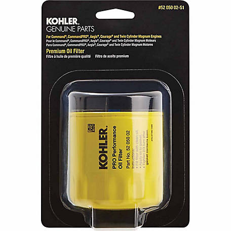 Kohler Premium Oil Filter, 52 050 02-C