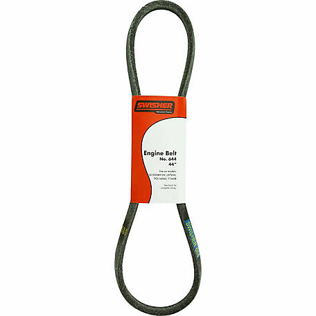 swisher replacement 44 in  engine belt for select machines
