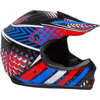 Fuel Youth Off Road Helmet; Large