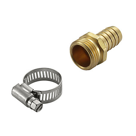 GroundWork 3/4 in. Male Hose Adapter, GB-9423