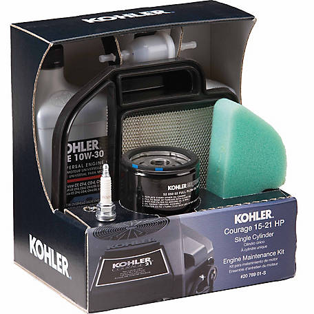 Kohler Courage 15-22 HP Engine Maintenance Kit, 20 789 01-S at Tractor  Supply Co