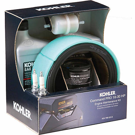 Kohler Command PRO 18-25 HP Engine Maintenance Kit, 24 789 02-S