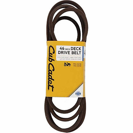Cub Cadet 46 in. Deck Drive Belt