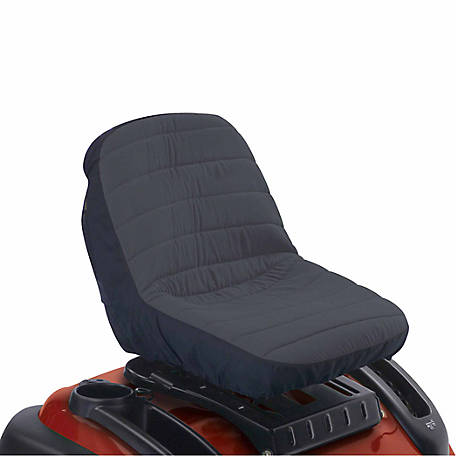 Classic Accessories Lawn Tractor Seat Cover, 19 in. W (seat) x 14.5 in. L (seat) x 12 in. H