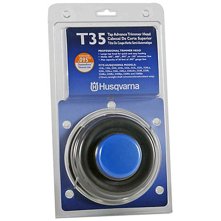 Husqvarna T35 Tap Advance Replacement Trimmer Head, 537388101