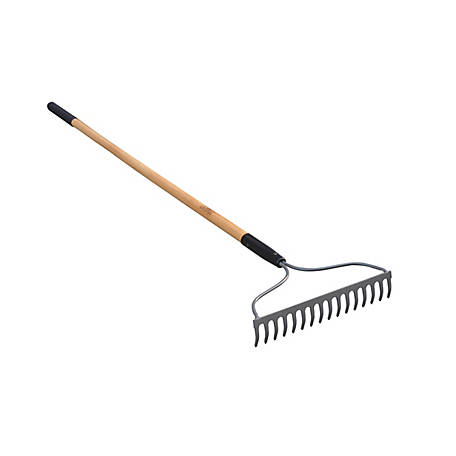 GroundWork 16-Tine Welded Bow Rake, YN-R002-16-5L