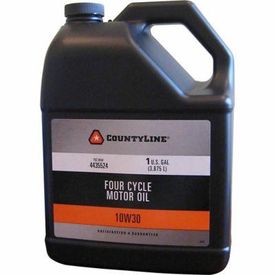 Buy CountyLine 10W30 Lawnmower Oil; 1 gal. Online