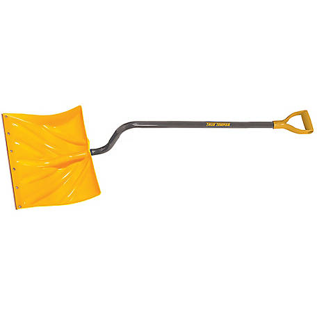 True Temper 18 in. Poly Snow Shovel