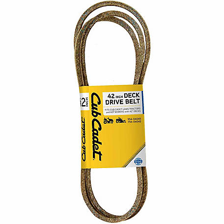 Cub Cadet 42 in. Deck Drive Belt