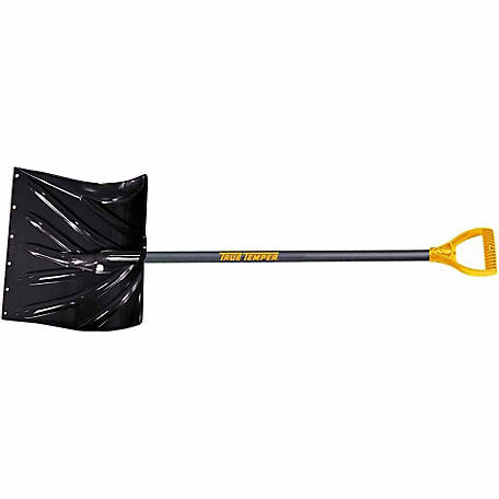 True Temper 18 in. Poly Snow Shovel, 1627200